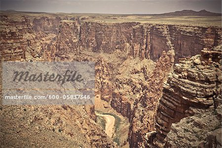 Little Colorado River Gorge, Arizona, USA Stock Photo - Premium Royalty-Free, Image code: 600-05837346