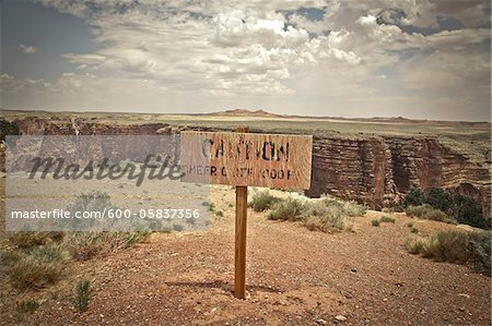 Little Colorado River Gorge, Arizona, USA Stock Photo - Premium Royalty-Free, Image code: 600-05837356