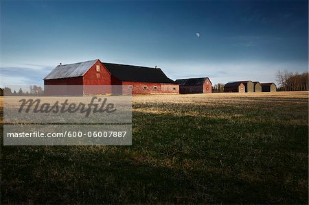 Barns, New Brunswick, Canada Stock Photo - Premium Royalty-Free, Image code: 600-06007887