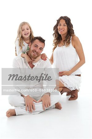 Portrait of Family Stock Photo - Premium Royalty-Free, Image code: 600-06038100