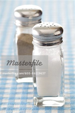 Salt and Pepper Stock Photo - Premium Royalty-Free, Image code: 600-06119637
