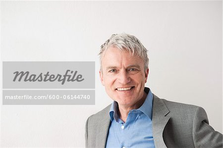 Portrait of Man Stock Photo - Premium Royalty-Free, Image code: 600-06144740