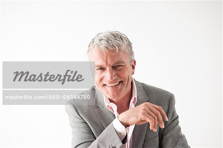 Portrait of Man Stock Photo - Premium Royalty-Free, Image code: 600-06144750