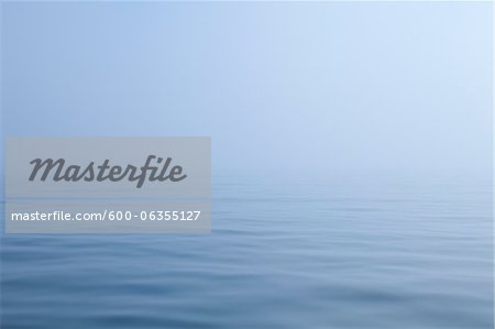 Ocean and Fog, Maine, USA Stock Photo - Premium Royalty-Free, Image code: 600-06355127