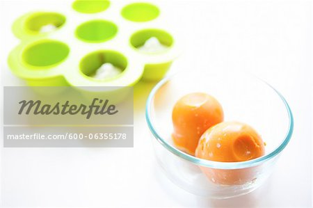 Frozen Baby Food Stock Photo - Premium Royalty-Free, Image code: 600-06355178