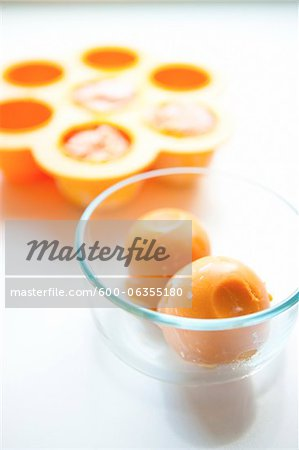Frozen Baby Food Stock Photo - Premium Royalty-Free, Image code: 600-06355180