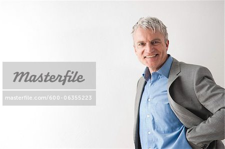 Portrait of Man Stock Photo - Premium Royalty-Free, Image code: 600-06355223
