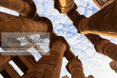 Great Hypostyle Hall, Temple of Amun, Karnak Temple, Luxor, Egypt Stock Photo - Premium Royalty-Free, Image code: 600-06355331