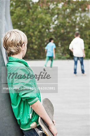 Boys Hanging Out in Playground, Mannheim, Baden-Wurttemberg, Germany Stock Photo - Premium Royalty-Free, Image code: 600-06382881