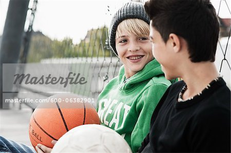 Boys, Mannheim, Baden-Wurttemberg, Germany Stock Photo - Premium Royalty-Free, Image code: 600-06382901