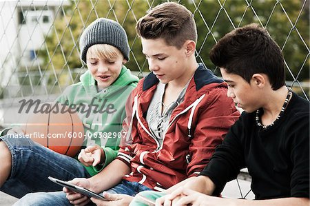 Boys, Mannheim, Baden-Wurttemberg, Germany Stock Photo - Premium Royalty-Free, Image code: 600-06382907