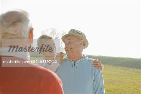 People Outdoors, Lampertheim, Hesse, Germany Stock Photo - Premium Royalty-Free, Image code: 600-06397412
