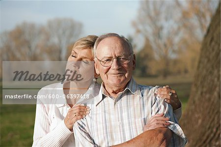 Portrait of Man and Woman, Lampertheim, Hesse, Germany Stock Photo - Premium Royalty-Free, Image code: 600-06397418