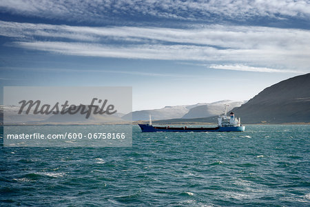 Tanker Ship, Hvalfjordur, Iceland Stock Photo - Premium Royalty-Free, Image code: 600-06758166