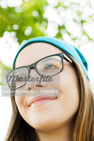 Portrait of Teenage Girl, Feudenheim, Mannheim, Baden-Wurttemberg, Germany Stock Photo - Premium Royalty-Free, Image code: 600-06894853