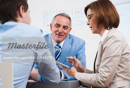 Business People in Office, Mannheim, Baden-Wurttemberg, Germany Stock Photo - Premium Royalty-Free, Image code: 600-07192173