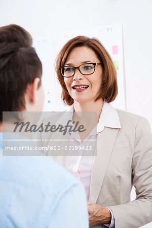 Business People in Office, Mannheim, Baden-Wurttemberg, Germany Stock Photo - Premium Royalty-Free, Image code: 600-07199423