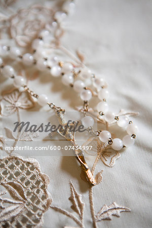 Close-up of Rosary Stock Photo - Premium Royalty-Free, Image code: 600-07434997