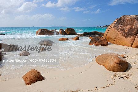 Anse Lazio, Baie Sainte Anne District, Praslin, Seychelles
