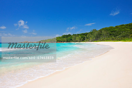 Anse Cocos Beach, La Digue, Seychelles Stock Photo - Premium Royalty-Free, Image code: 600-07453839