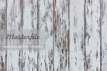 Close-up of weathered, whitewashed barn boards, Odenwald, Hesse, Germany Stock Photo - Premium Royalty-Free, Image code: 600-08145814