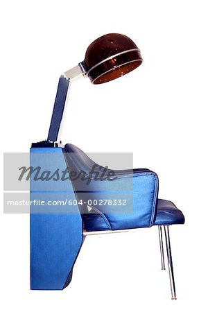 Salon hair dryer and chair Stock Photo - Premium Royalty-Free, Image code: 604-00278332
