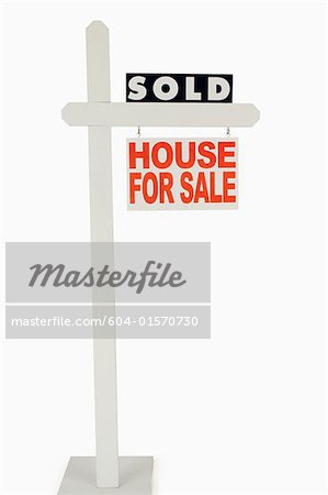 For sale sign Stock Photo - Premium Royalty-Free, Image code: 604-01570730