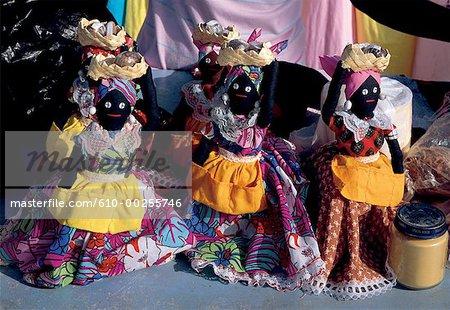 French West Indies, Martinique, souvenir dolls