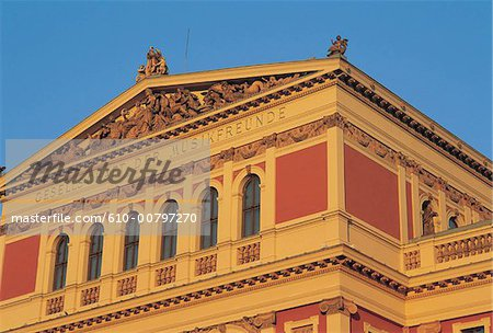Austria, Vienna, Musikverein. Stock Photo - Premium Royalty-Free, Image code: 610-00797270