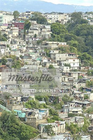 Guatemala, Guatemala city, slums
