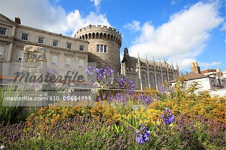 Ireland, Dublin, Dublin castle Stock Photo - Premium Royalty-Free, Image code: 610-05654999