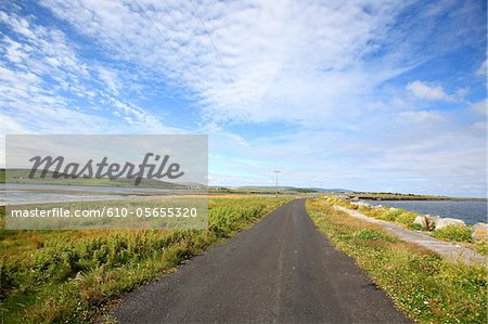 Ireland, landscape of Kinvara Stock Photo - Premium Royalty-Free, Image code: 610-05655320