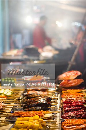 Chinese Street Food Stock Photo - Premium Royalty-Free, Image code: 6106-05395301