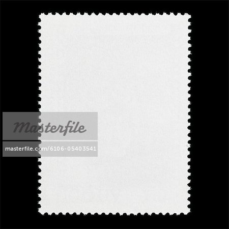 Blank postage stamp Stock Photo - Premium Royalty-Free, Image code: 6106-05403541