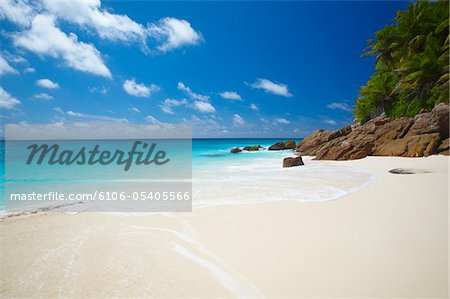 Tropical beach, Seychelles, Indian Ocean, Africa Stock Photo - Premium Royalty-Free, Image code: 6106-05405566