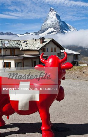 The Matterhorn, view from Gornergrat Stock Photo - Premium Royalty-Free, Image code: 6106-05408297