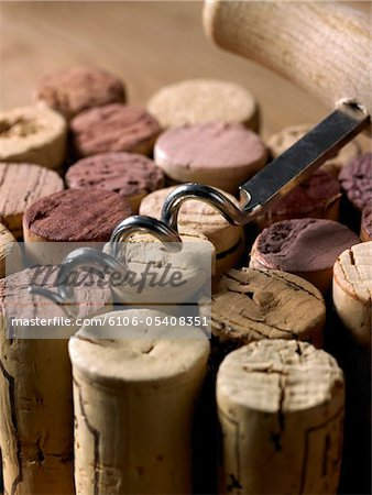 Corks Stock Photo - Premium Royalty-Free, Image code: 6106-05408351