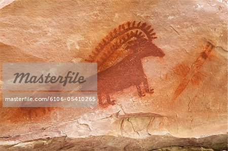 Pictograph of ram Stock Photo - Premium Royalty-Free, Image code: 6106-05410265
