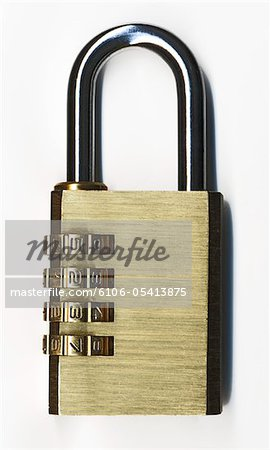 closed padlock Stock Photo - Premium Royalty-Free, Image code: 6106-05413875