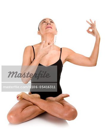 Yoga positions Stock Photo - Premium Royalty-Free, Image code: 6106-05416311