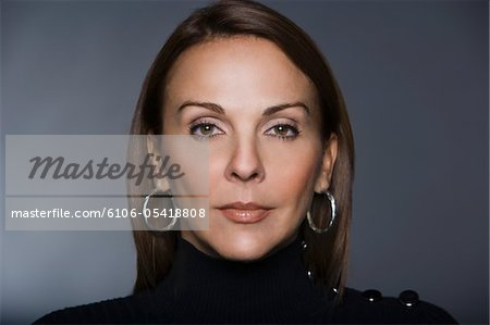 Beauty portrait of woman Stock Photo - Premium Royalty-Free, Image code: 6106-05418808