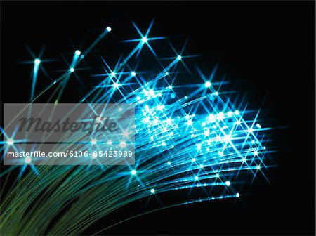 Fiber optic cables Stock Photo - Premium Royalty-Free, Image code: 6106-05423989