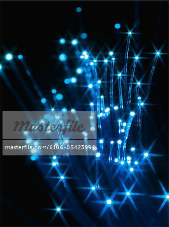 Fiber optic cables Stock Photo - Premium Royalty-Free, Image code: 6106-05423994