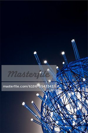 gather up the fiber optics Stock Photo - Premium Royalty-Free, Image code: 6106-05433437