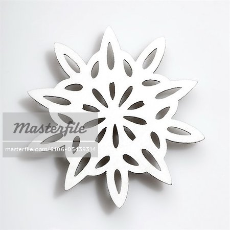 Snowflake Stock Photo - Premium Royalty-Free, Image code: 6106-05439314