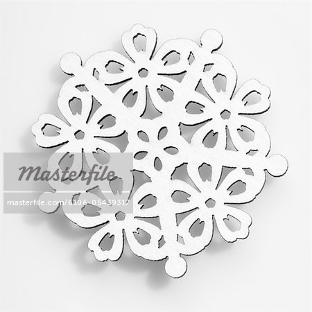 Snowflake Stock Photo - Premium Royalty-Free, Image code: 6106-05439317