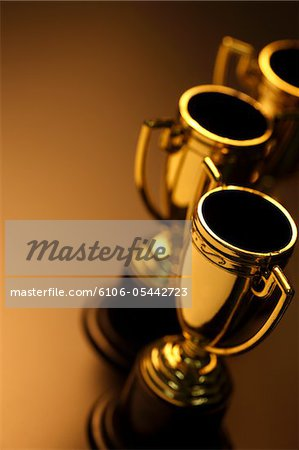 Trophies Stock Photo - Premium Royalty-Free, Image code: 6106-05442723