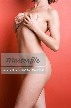 Study of a female nude. Stock Photo - Premium Royalty-Free, Image code: 6106-05487685