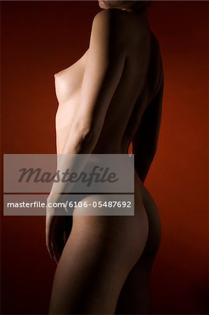 Study of a female nude. Stock Photo - Premium Royalty-Free, Image code: 6106-05487692