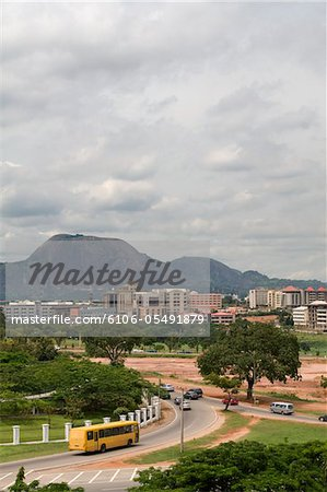 Abuja Cityscape Stock Photo - Premium Royalty-Free, Image code: 6106-05491879